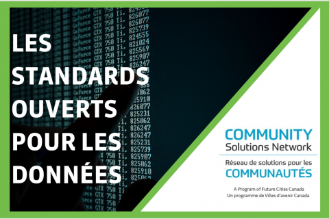 Normes ouvertes en matière de données (D102F)