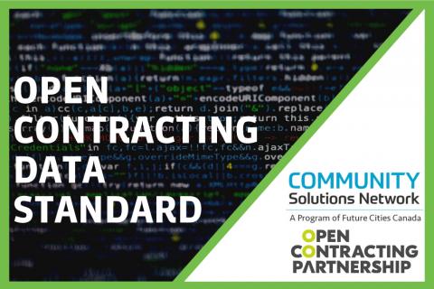 Open Contracting Data Standard for Procurement (D202)