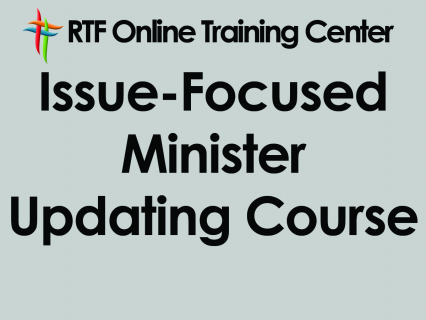 Issue-Focused Minister Updating Course (1300)