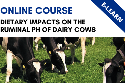 Dietary Impacts of the Ruminal pH of Dairy Cows - E-Learn
