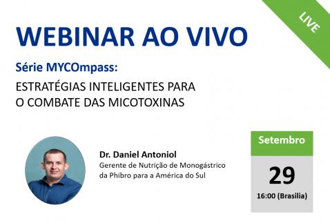 09/29/20 Série MYCOmpass: Estratégias inteligentes para o combate das micotoxinas