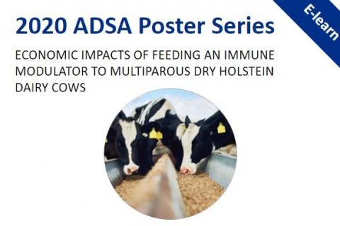 2020 ADSA Poster Series: Economic Impacts of Feeding OmniGen