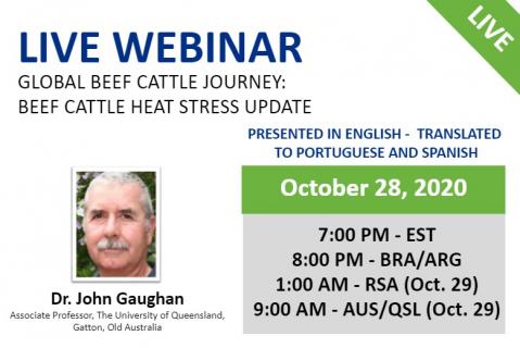 10/28/20 Global Beef Cattle Journey: Beef Cattle Heat Stress Update
