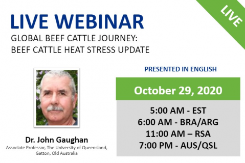 10/29/20 Global Beef Cattle Journey: Beef Cattle Heat Stress Update