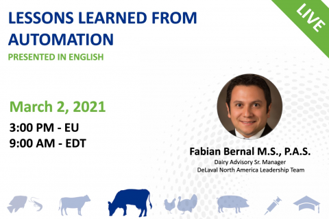 03/02/21 Global Dairy Producer Series: Lessons Learned from Automation