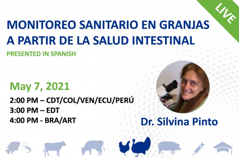 05/07/21 Monitoreo sanitario en granjas a partir de la salud intestinal
