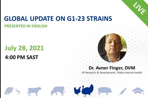 07/28/2021 Global Update on G1-23 Strains