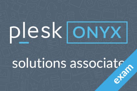 Plesk Onyx Solutions Associate Certification (P170-0-SALES-CERT)