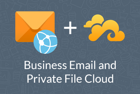 Business email and private file cloud with Plesk Premium Email and Seafile