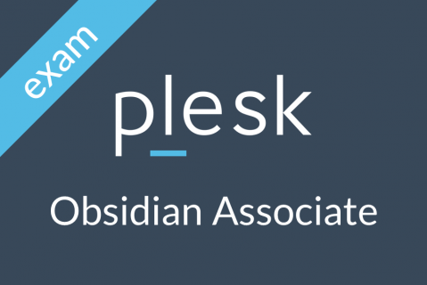 Plesk Obsidian Associate Certification (OBS-1-ASSOCIATE-EXAM)