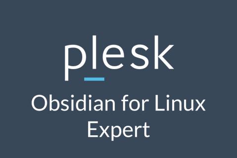 Plesk Obsidian for Linux Expert (OBS-3-LINEXP)