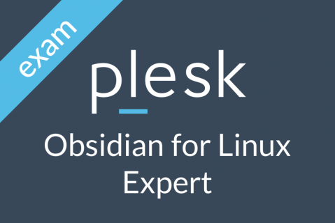 Plesk Obsidian for Linux Expert Certification (OBS-3-LINEXP-EXAM)