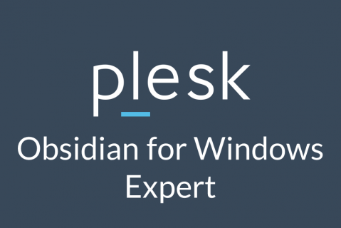 Plesk Obsidian for Windows Expert (OBS-2-WINEXP)