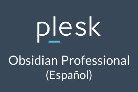 Plesk Obsidian Professional (Español) (OBS-2-PRO-es_ES)