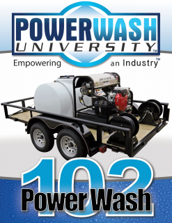 201: Building on the Fundamentals of Power Washing (PW-201)