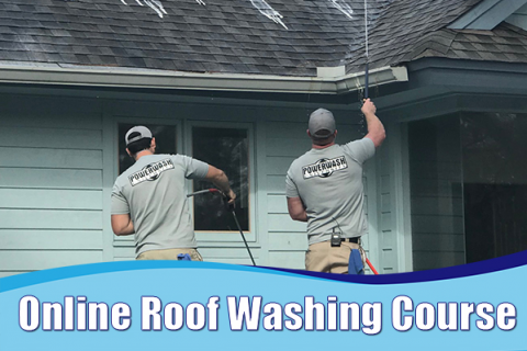 302: Roof Washing (PWU-302)