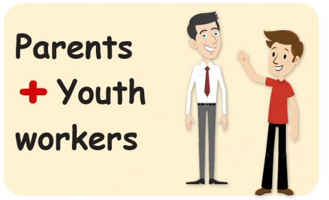 Healthy Dialogue with Parents and Youthworkers (TIPS FOR BOTH YouthWorkers and Parents) (HDE-103WA2)