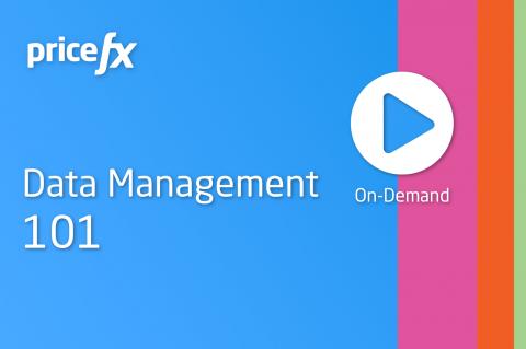 Data Management 101 (On-demand) (101-DM)