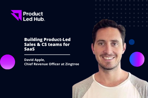 Building Product-Led Sales & CS teams for SaaS
