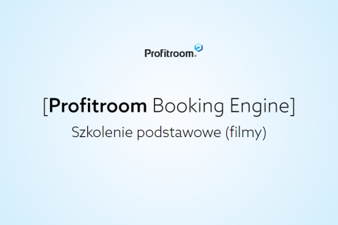 [Booking Engine] Szkolenie podstawowe (003000001)