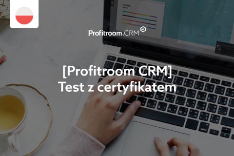 [CRM] Test z certyfikatem (004000004)