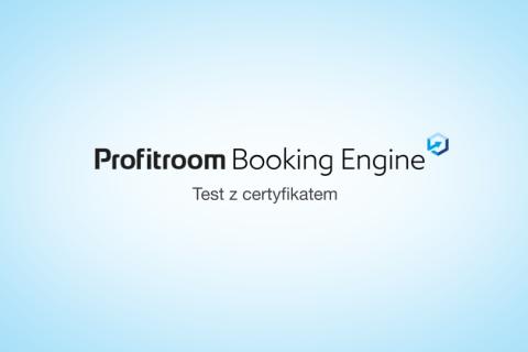 [Booking Engine] Osvědčení o absolvování úvodního školení