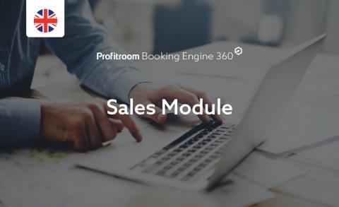 [Booking Engine 360] Sales Module (000010006)