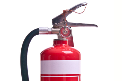 Fire Extinguishing Test and Tag