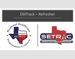 EMTrack – Refresher