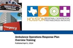 Ambulance Operations Response Plan Overview