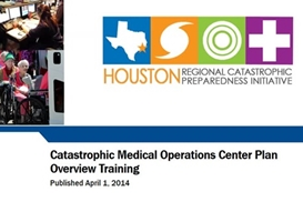 Catastrophic Medical Operation Center Overview Training