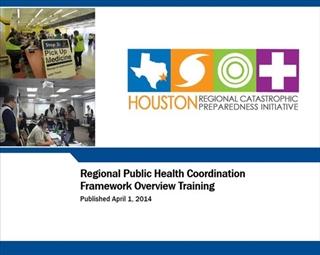 Regional Public Health Coordination Framework Overview Training