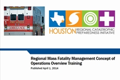 Regional Mass Fatality Management Concept of Operations Overview