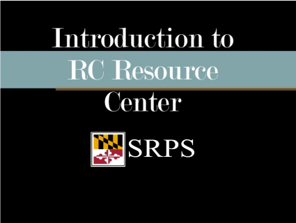 Introduction to Resource Center