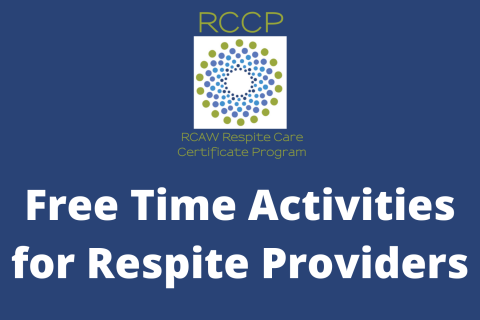 Free Time Activities for Respite Providers (107)