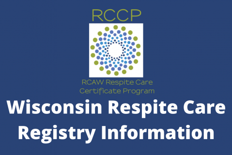 RCAW Respite Registry Training Info (109-WI)