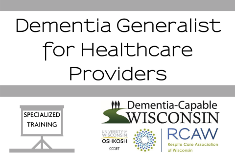 Dementia Generalist for Healthcare Providers (502)