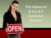 Values of Great Customer Service