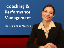 Coaching, Sales and Performance Management - The Top Check Method