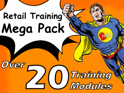 Amazing Offer!  Retail Training Mega Pack