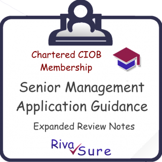 MCIOB Level 7 Extra Guidance (NOTES Only) (CIOB7N)