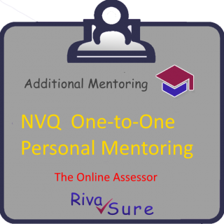 NVQ 1to1 #3, Personal Mentoring for 4-5 UNITS (via ZOOM) (CMP030)