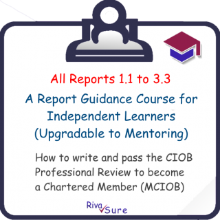 All Reports / Solo Learning 1.1 to 3.3 (MCIOB R1-14 S)