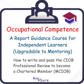 1.x Reports / Solo Learning 1.1-1.5 (Occupational Competence) (MCIOB R01-05 S)
