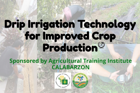 ATI Sponsored Drip Irrigation Technology for Improved Crop Production