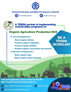 2020 Organic Agriculture Production NC II