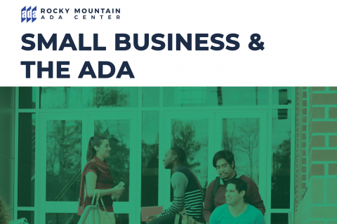 Small Business and the ADA - NEW Course!