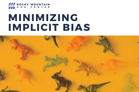 Minimizing Implicit Bias