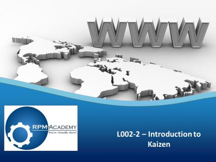 Introduction to Kaizen (L002-2)