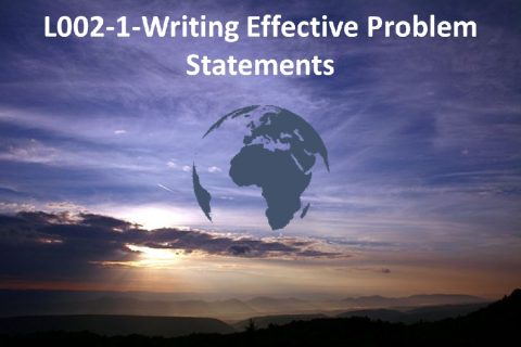 Writing Effective Problem Statements (L002-1)